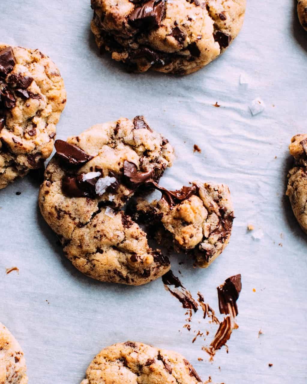 Cookies végan  - Recette de Baroudeuse Culinaire