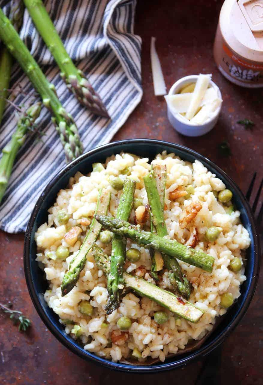 Risotto aux asperges - Recette de Baroudeuse Culinaire