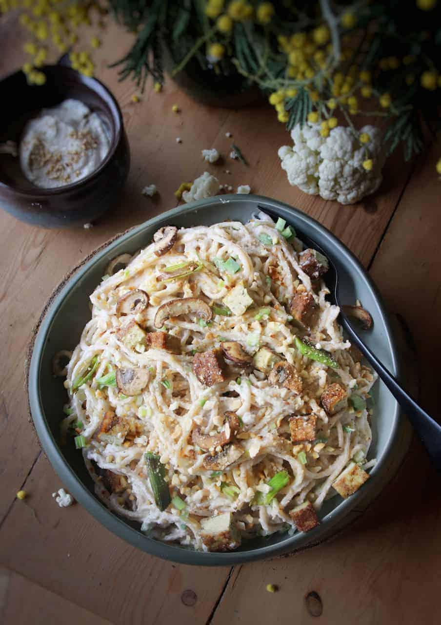 Sauce crémeuse chou-fleur - Recette de Baroudeuse Culinaire