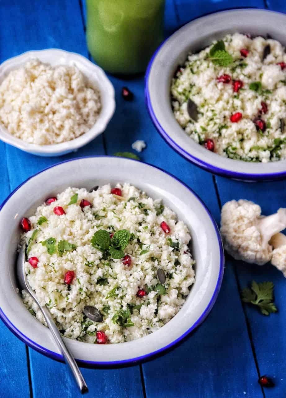 Taboulé de chou-fleur - Recette de Baroudeuse Culinaire