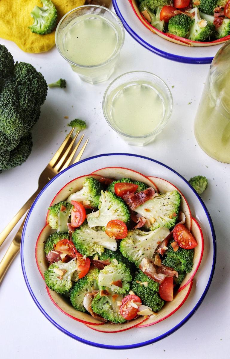 Salade de brocolis - Recette de Baroudeuse Culinaire